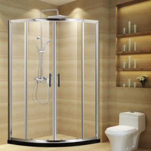 Gabinetes de chuveiro porta deslizante de banho de chuveiro em vidro temperado de banho quarto compartimento Marcação certificada