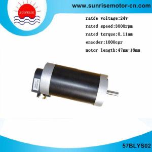 57blys02 24VCC 0.11nm Motor eléctrico/DC servomotor.