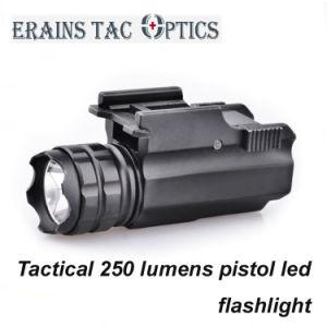 Lumens 250 Led Aluminium Arme Pistolet Tactique Compact En De Torche BodCxe