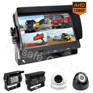 systeem van de Camera van de Auto van de Monitor van Vierling 7 '' Rearview voor Vrachtwagens