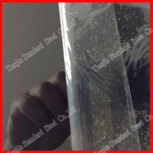 Ss 430 finition miroir noir plaque en acier inoxydable