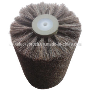 Horse Hair escova redonda para equipamento para polir as máquinas (AA-339)