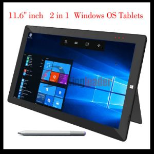 11.6pulgadas IPS de 1920x1080p pantalla Multi-Touch de núcleo cuádruple1.92GHz Windows10 Superficie Tablet PC con procesador Intel Cherry Trail Z8350 y 2GB/32GB (W116z)
