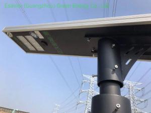 50W Outdoor tout en un seul voyant intégré Rue lumière solaire lampe eclairage du capteur de mouvement