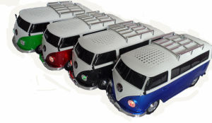 Портативный USB Mini громкоговорители автомобиля шины WS-266 Car плеер с FM-радио