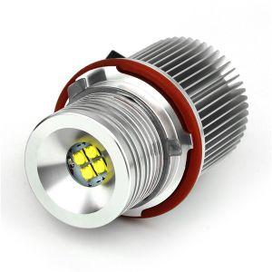40Wクリー族チップLEDマーカーの天使はBMW E39 E53 E60 E61 E63 E64 E65 E87 DC10-30V LEDの天使の目の電球のための7000kを注目する