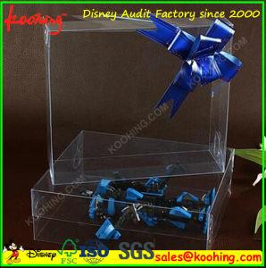 L'impression personnalisée Boîte en plastique transparent en PVC/PET