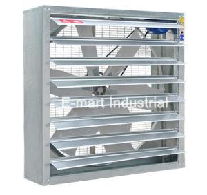 1380mmの産業否定的な圧力プラスチック鋼鉄排気の壁のファン