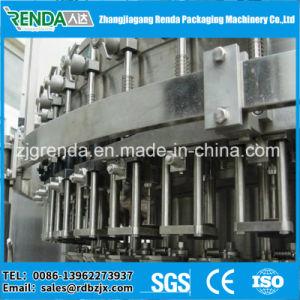 Máquina de enchimento de bebidas líquido automática para embalagem de suco quente