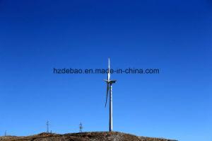 Poste de acero galvanizado de la torre de la energía eólica