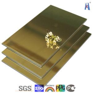 Het Materiaal van de Bouwconstructie/Plastic Samengesteld Comité Aluminium/Aluminum