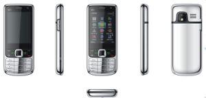 2.4 quad band TV 6700, Telefone celular com WiFi, Java, Duplo SIM(K6700)