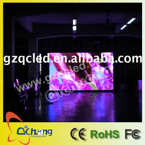 P12 plein écran de la publicité vidéo couleur