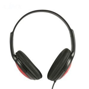 Verdrahteter Stirnband-kundenspezifischer Kopfhörer-preiswerter Stereokopfhörer MP3
