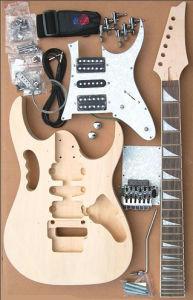 Kit de guitarra / kit de guitarra elétrica / kit de madeira (GK-408A)