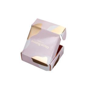 Proveedor Premium de tamaño personalizado de pared triple sello de oro Accesorios plegable de Cartón Ondulado Embalaje Caja de regalo de envío