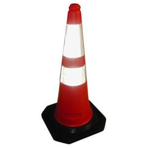 75cm en Arabie saoudite cône en plastique de la sécurité industrielle standard (CC-A03)