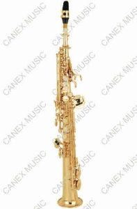 Saxophone soprano à niveau d'entrée / droit (SASS-L)