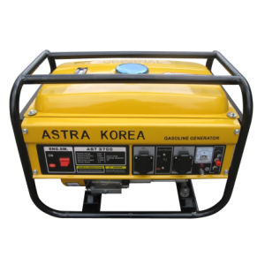 La Corée 3700 2500wates Astra générateur à essence moteur avec 7HP