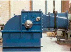 De dwars Generator van de Waterkracht van de Stroom