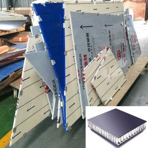 Пользовательские ячеистой алюминиевой конструкции Сэндвич панели для установки на стене оболочка и оформление