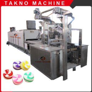 Полностью автоматическая промышленного центра заполнены конфеты машины с системой ЧПУ с ЗУ