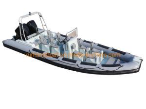 Ster 7.5m van de golf de Boot van de Patrouille van de Rib 25feet/de Stijve Opblaasbare Boot van het Sightseeing