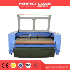 자동 지류 Laser 절단기를 가진 커튼 직물 Laser 절단기