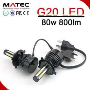 すべての車のための極度の明るいLEDヘッド軽いランプ12V車LEDのヘッドライトH11