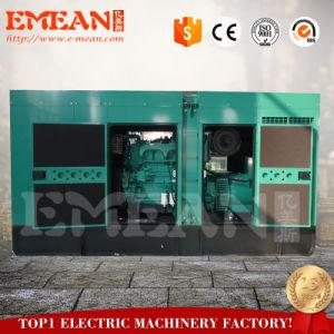 130kw 저잡음 고에너지 이용 비율 디젤 발전기