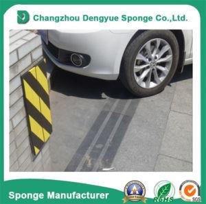 Yellow-Black mur autocollant de protection arrière de parking de la mousse adhésive