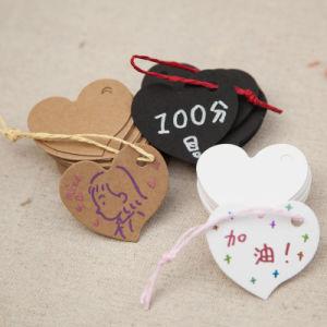 Troqueladas OEM de la etiqueta de boda y boda colgar la etiqueta para regalo en Guangzhou