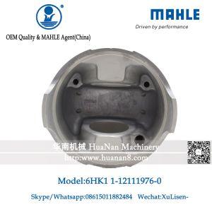 6HK1直接注入のMahleピストン9760 1-87811959-0の6HK1掘削機エンジンピストン