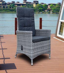 Hôtel de Plein Air chaud Patio Jardin moderne de bureau à domicile l'Osier rotin chaise de salle à manger (J5881)