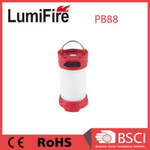 携帯電話の充電器が付いている屋外の再充電可能なDimmable LEDのキャンプテントライト