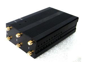 De draagbare 2g 3G 4G GPS van de Telefoon van de Cel Stoorzender van het Signaal met 6 Antennes