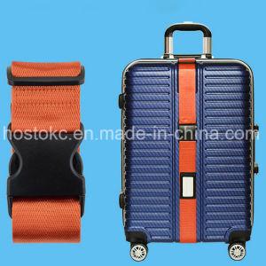 Correa de equipajes, Maleta Strapwith con un peso de la hebilla, hebilla de la contraseña, la TSA Bloqueo personalizado hebilla, Logotipo personalizado de la correa de cordón