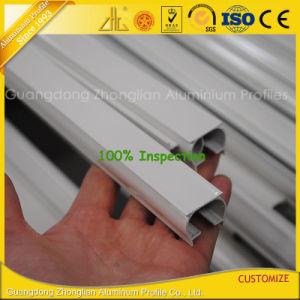 Kundenspezifisches Puder-beschichtende weiße Aluminiumvorhangschiene-Profile