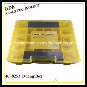 De gele Doos van de Uitrusting van de O-ring van het Silicone voor Rupsband (4c-8253)