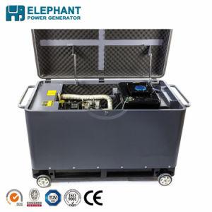 10kVA générateur diesel portable de type silencieux avec deux Cyliners