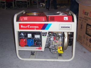 2.5kVA/2.8kVA 110/220V 50Hz/60Hz beweglicher Dieselgenerator