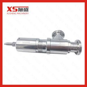 valvola igienica sanitaria della versione di sicurezza dell'acciaio inossidabile Ss304 di 25.4mm