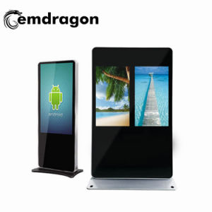 Imprimante photo d'affichage de publicité HD 32 pouces LCD Android Digital Signage SD Bus WiFi avec LED Hot Video Player