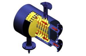 A Shell e a placa do trocador de calor para o óleo de refrigeração ou de ar