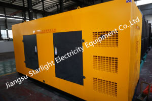 440kw/550kVA Groupe électrogène diesel électrique silencieuse Hot Sale avec Perkins