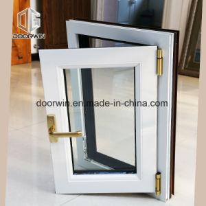 열 틈 알루미늄을%s 가진 백색 여닫이 창 Windows