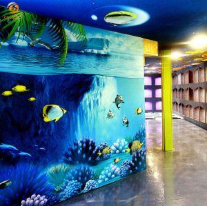 Bureau de l'intérieur Decoration Material barrière sonore les dalles de plafond OEM ODM Réduction du bruit de revêtement mural en fibre de polyester peinture par pulvérisation Eo-Friendly Panneau acoustique