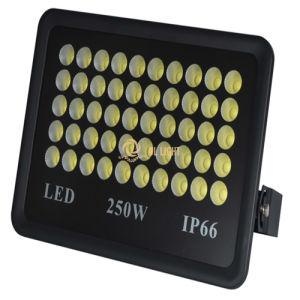 極めて薄い250W屋外LEDの洪水ライト保証5年の