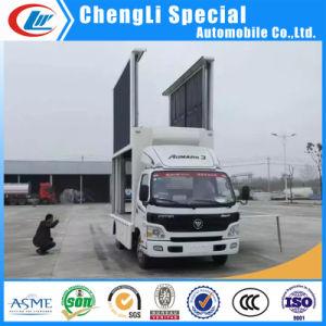 Foton 4X2 P5 LED表示販売のための防水スクリーンのトラック