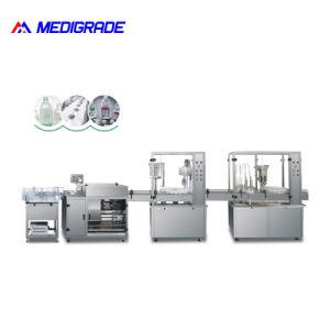 (50-1000ml) enorme volume Lifusions Pacote linha compacta máquina de nivelamento de enchimento de Lavagem